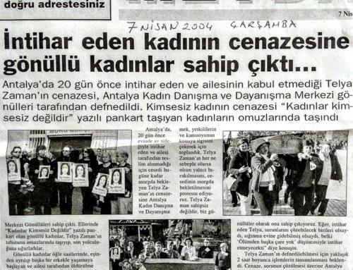 Sabah Akdeniz 7 Nisan 2004